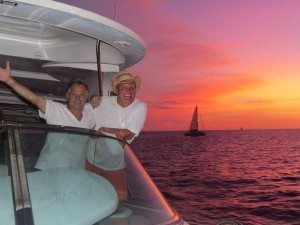 Cabo Sunset Charter Beautiful Red